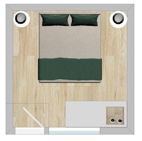 Bunkhouse DBL layout